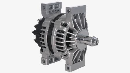 28SI High Output Brush Alternator