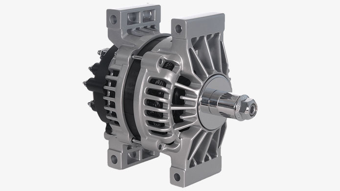 28SI High Output Brush Alternator