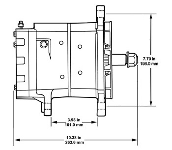 35SI HP J180 Dimensions