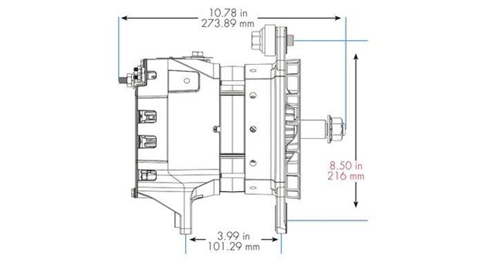 40SI Lineart Long Hinge Dimensions
