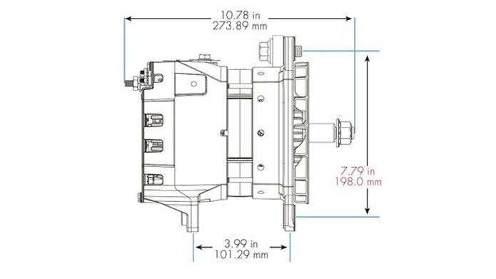 40SI Lineart Short Hinge Dimensions