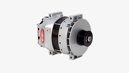 Delco Remy 55SI High Output Heavy Duty Brushless Alternator