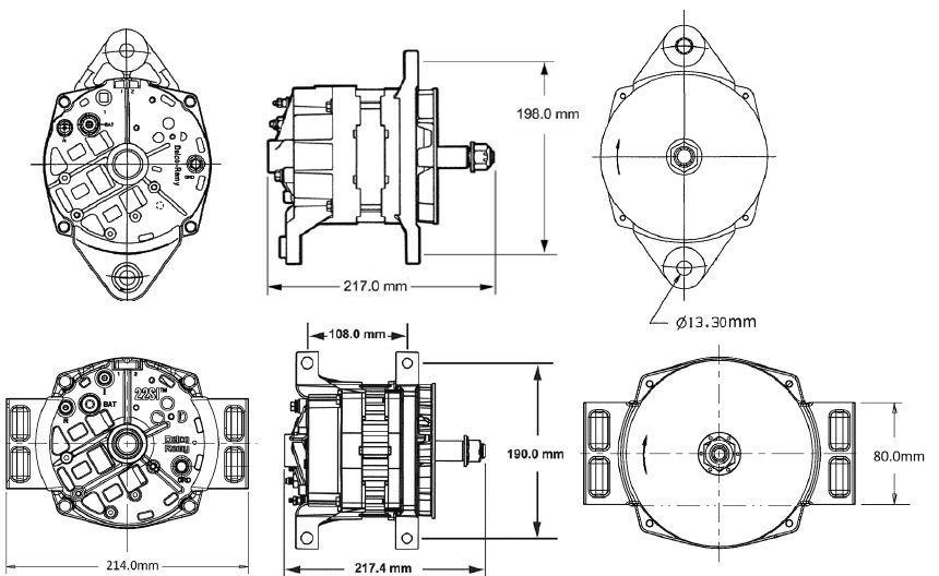 Dimensões 22SI