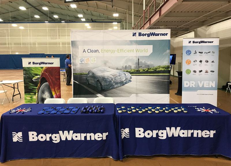 BorgWarner Career Fair Booth