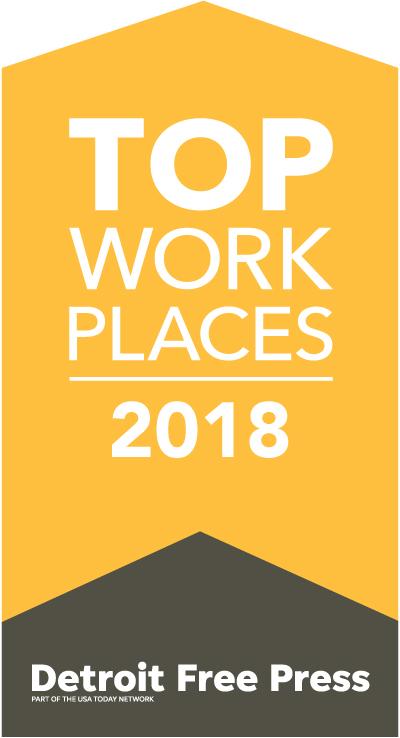 Top Workplaces Detroit 2019