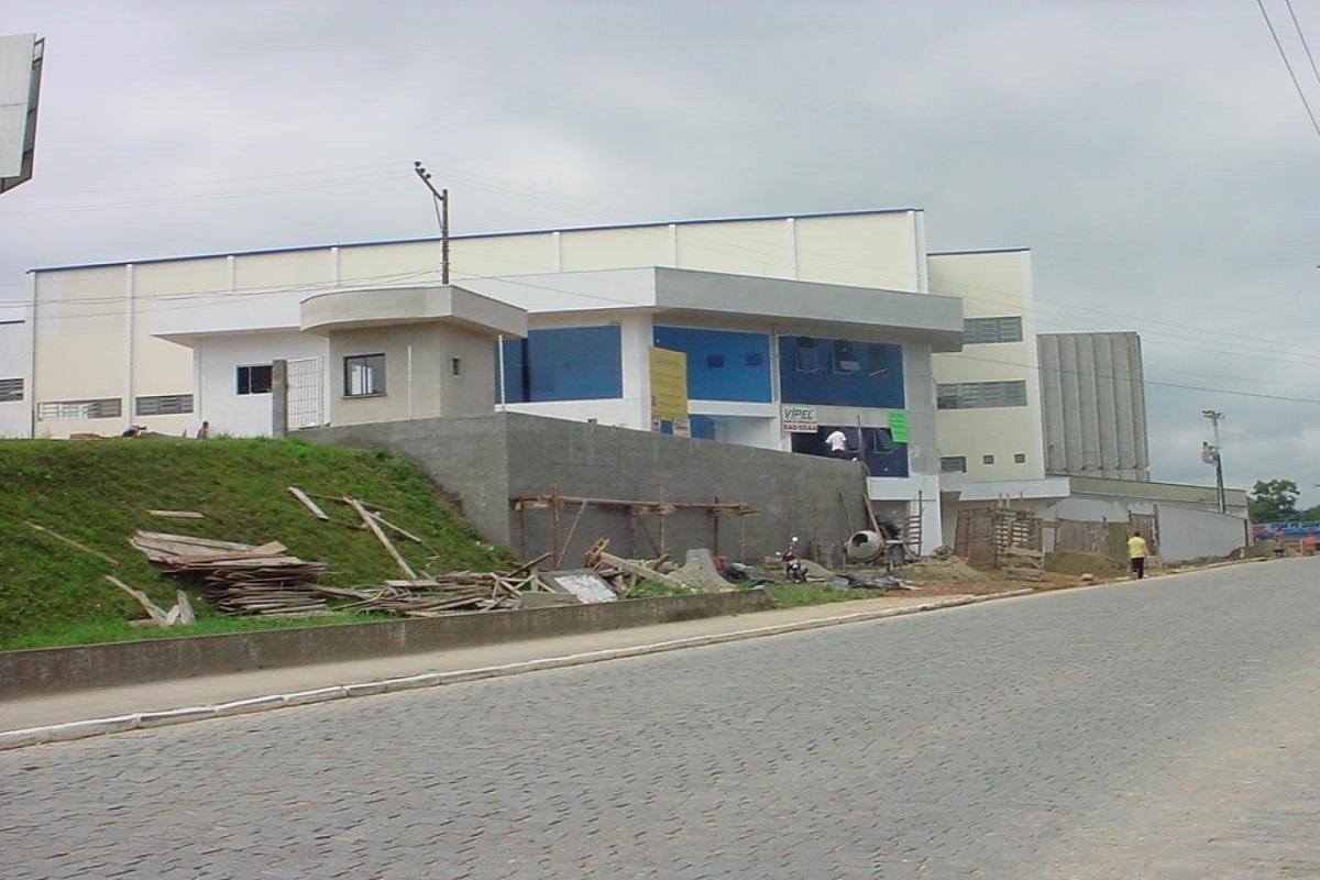 BW Brusque: Construção da Planta