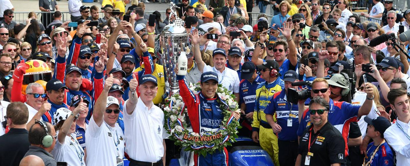 04 | 2017 Indianapolis 500 Winner - Takuma Sato