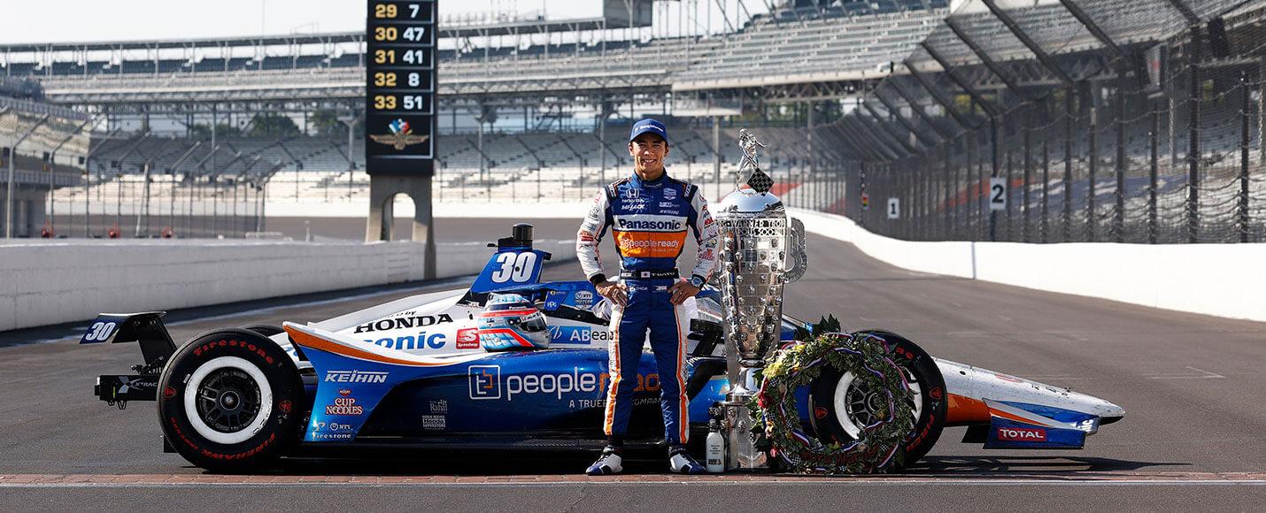 02 | 2020 Indianapolis 500 Winner - Takuma Sato