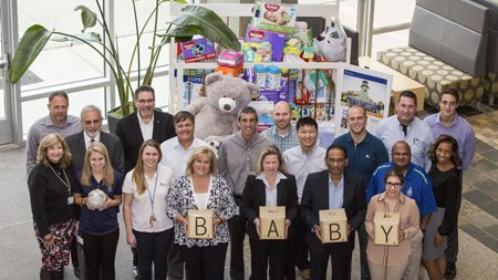 Second Annual Collection Fills Crib with Baby Gifts for Families in Need