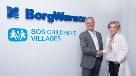 Partnering with SOS Children's Villages