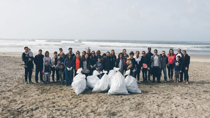 Viana Beach Clean Up