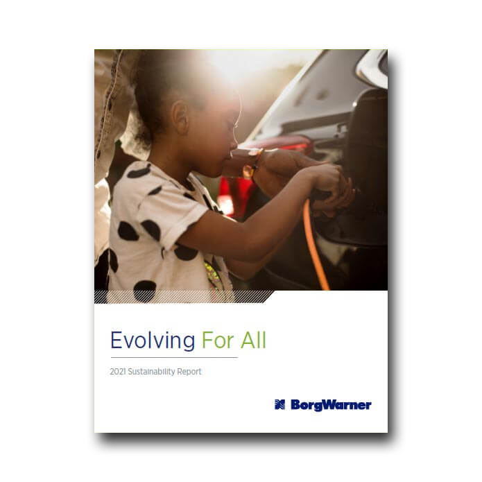 Sustainability Report 2021: Evolving For All