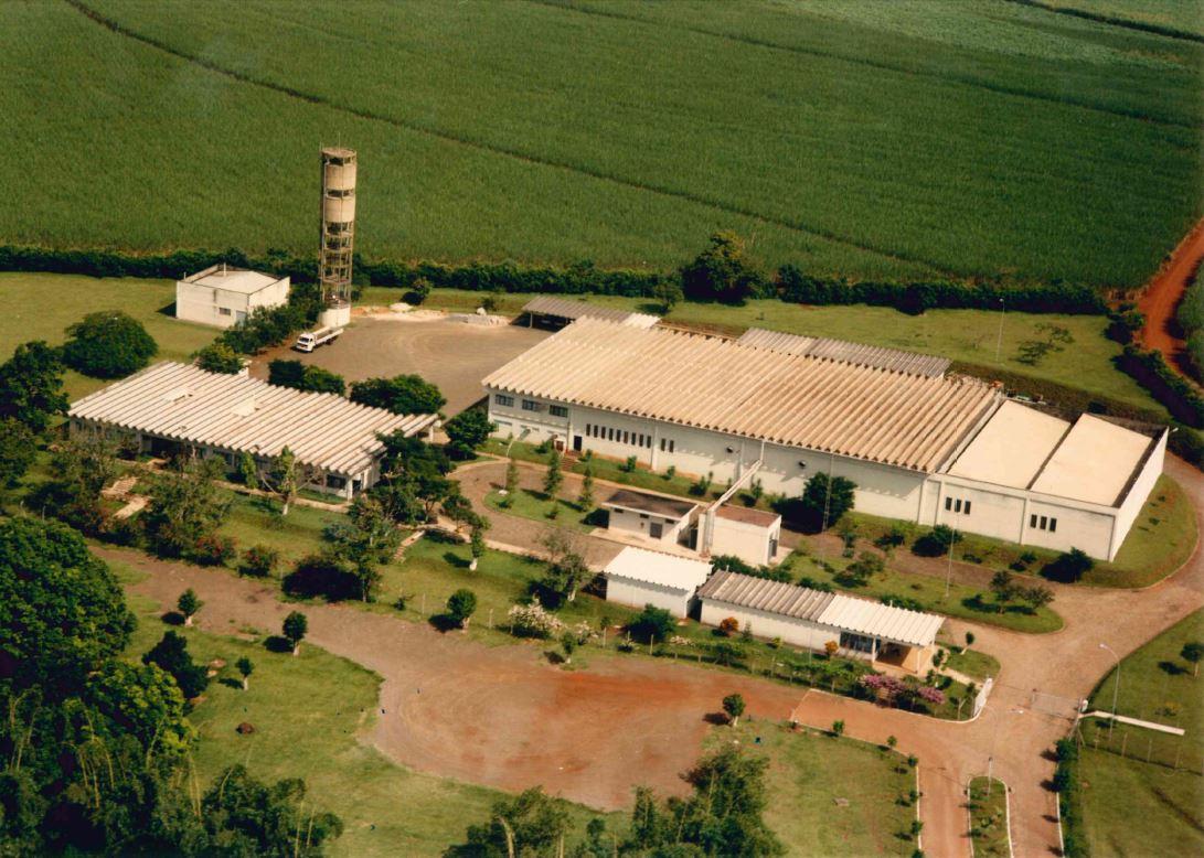 Vista Aérea Lacom 1988