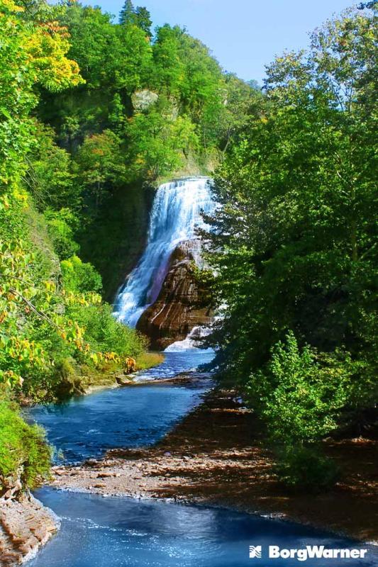 Visit Ithaca Waterfall