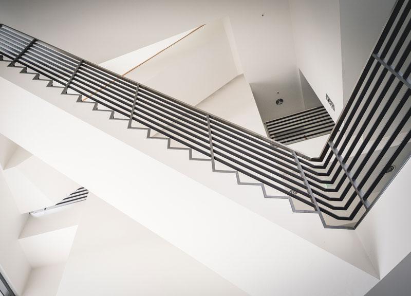 Neue Technologien in moderner Architektur - DCC Innenansicht