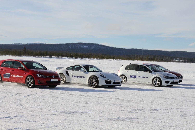 Arjeplog Car Line up
