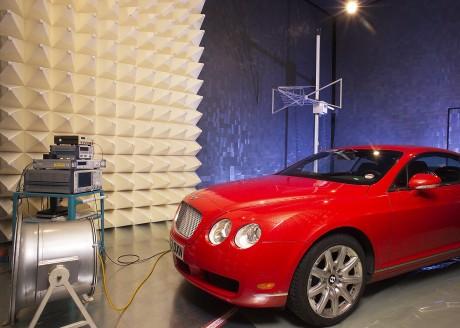 Test der elektromagnetischen Verträglichkeit (EMV) in Ludwigsburg