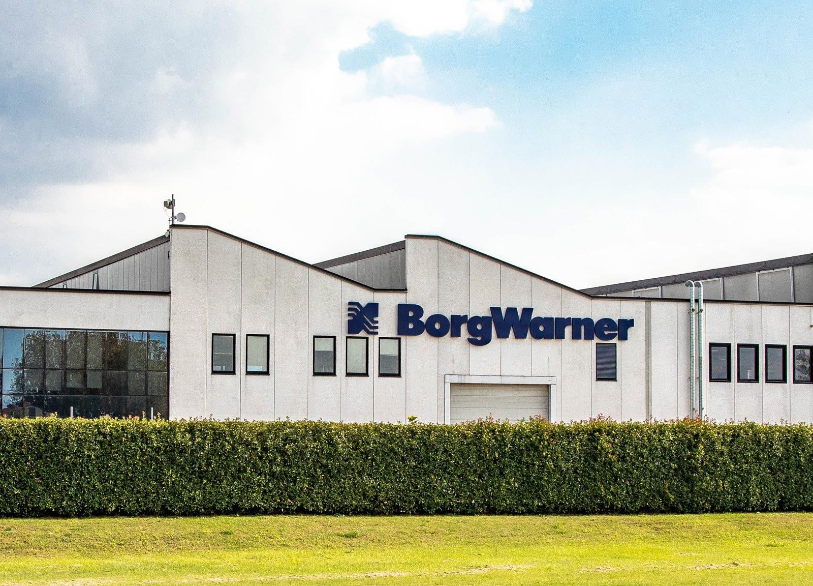 MSL BorgWarner Systems Lugo Entrance