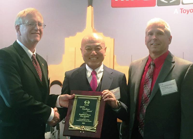 2015 HINO Supplier Award