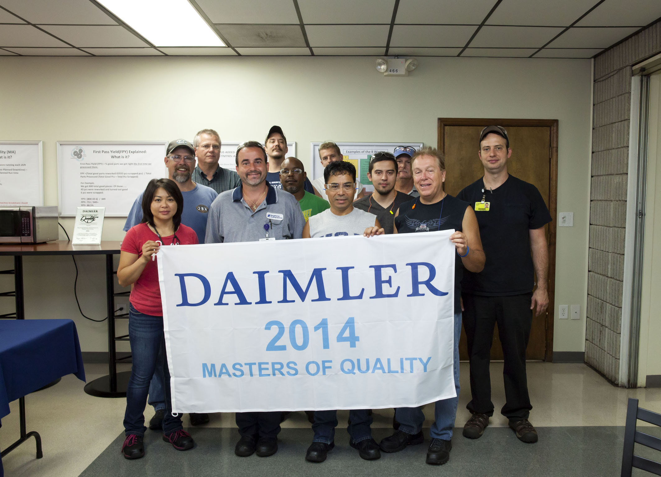 Daimler Trucks North America Masters of Quality Suppliers