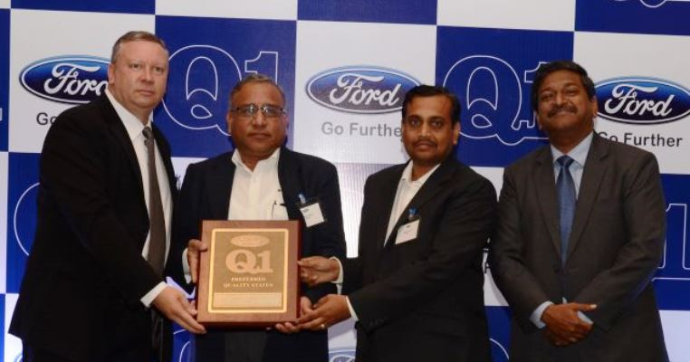 Ford Q1 Award  for Pune, India