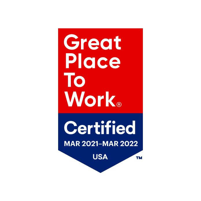 Great Place to Work 2021-2022