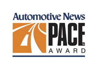 Automotive News PACE Award logo
