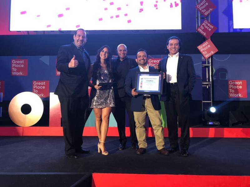 墨西哥拉莫斯阿里斯佩工厂连续第五年荣获最佳工作场所奖