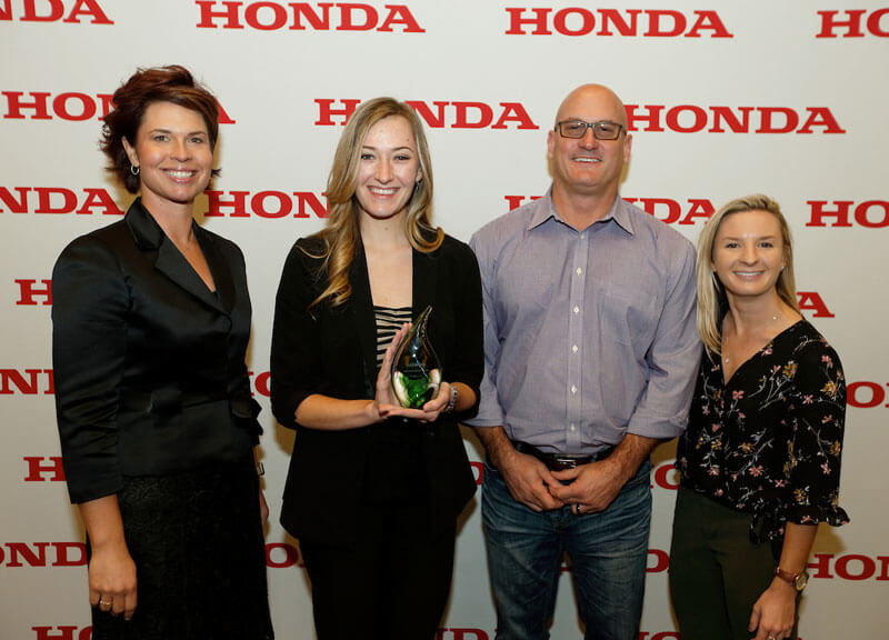 BorgWarner Receives Honda Green Excellence Award