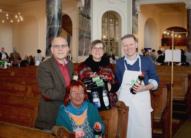 BorgWarner Spende Vesperkirche Ludwigsburg