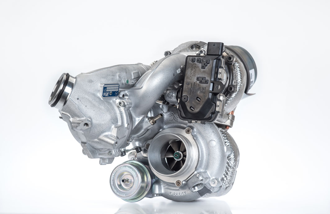 Regulated two stage turbocharger R2S®