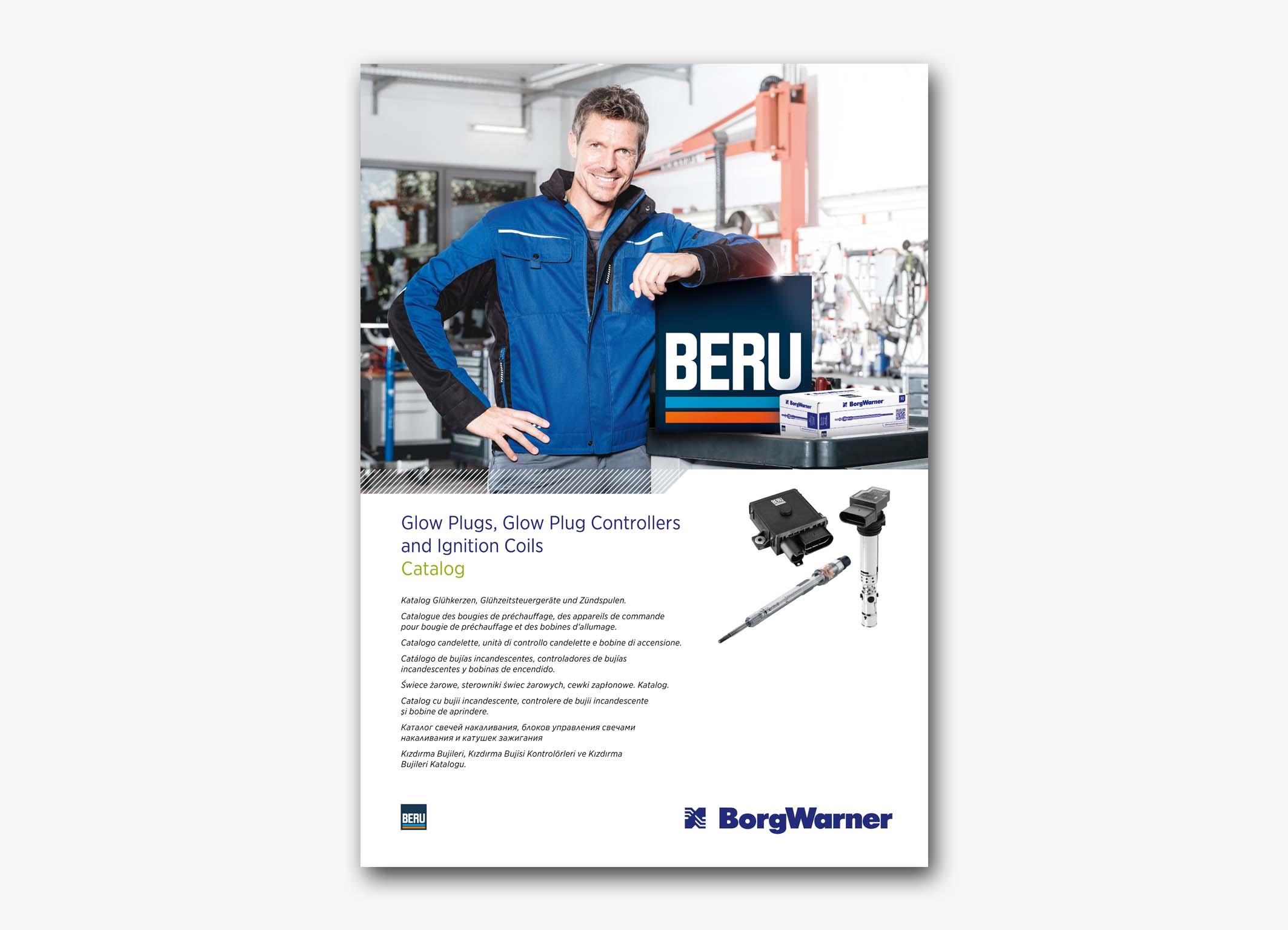 Image of BERU Catalog Cover