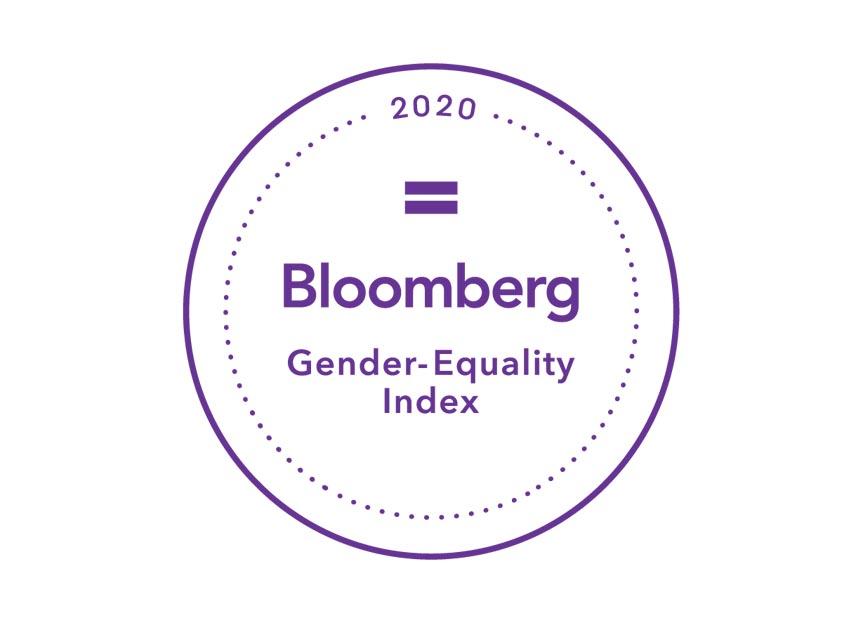 2020 Bloomberg Gender-Equality Index Logo