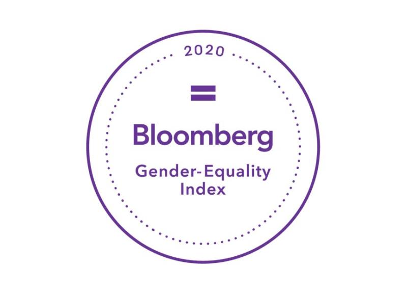 2020 Bloomberg Gender-Equality Index Logo