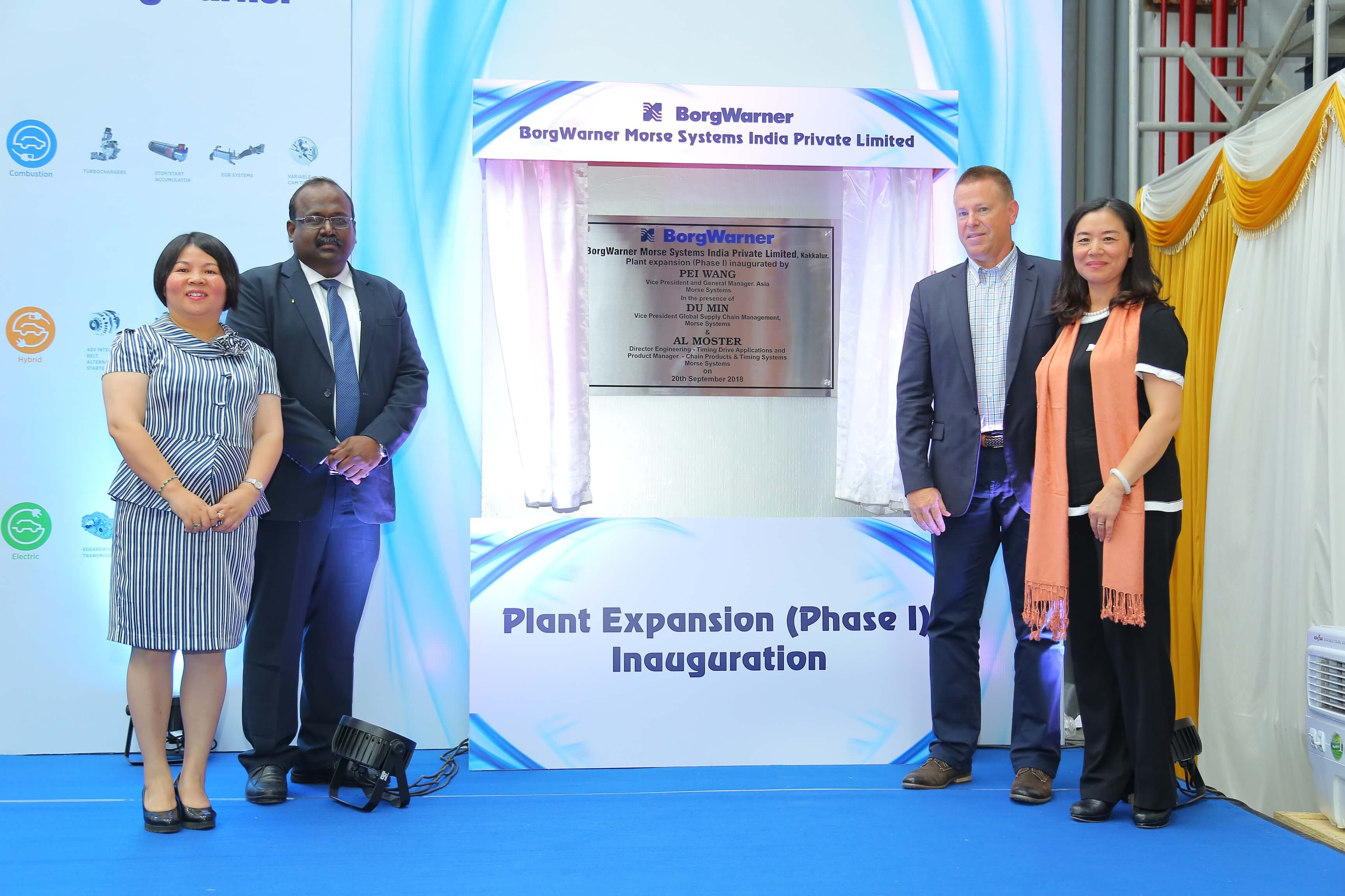 BorgWarner Plant Expansion Kakkalur