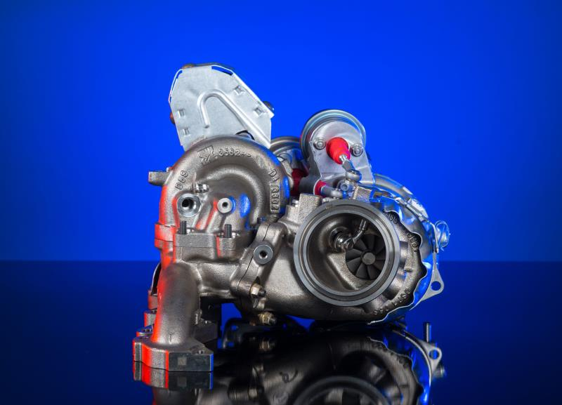 BorgWarner supplies optimized R2S® turbocharging technology for the Volkwagen Group's new high-performance diesel engine
