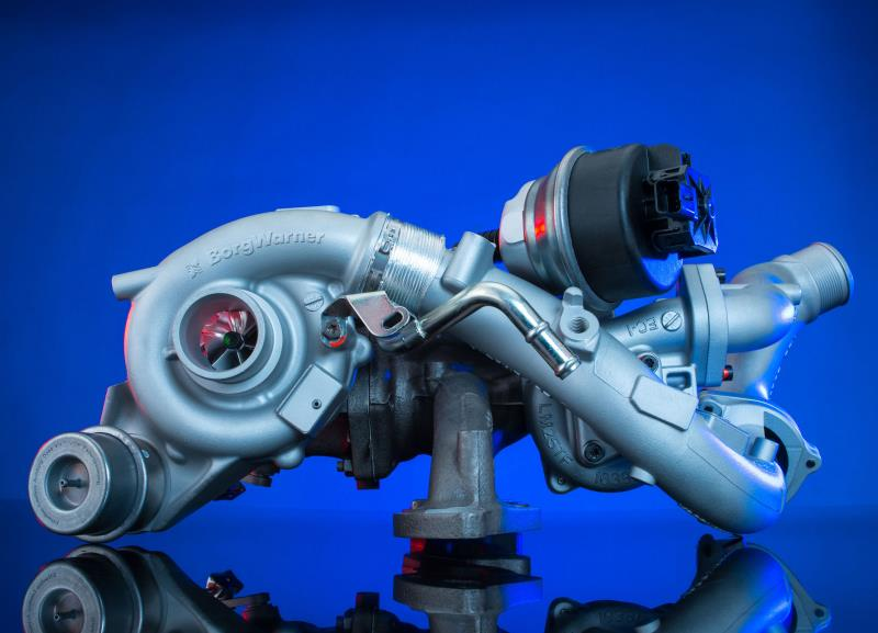 BorgWarner boosts Ford's new high-performance diesel engine with regulated two-stage turbocharging technology