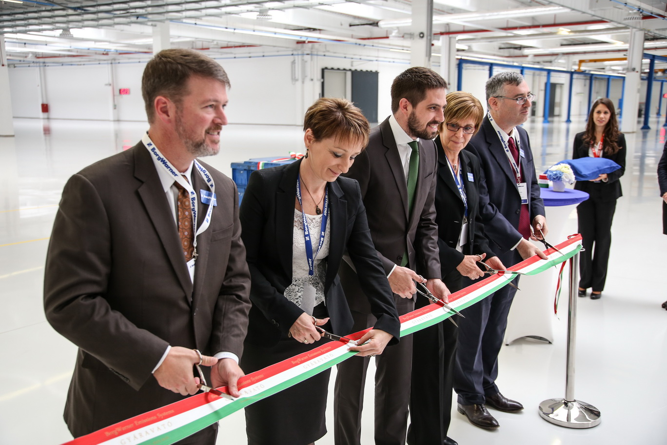 BorgWarner celebrates opening of new production facility in Hungary