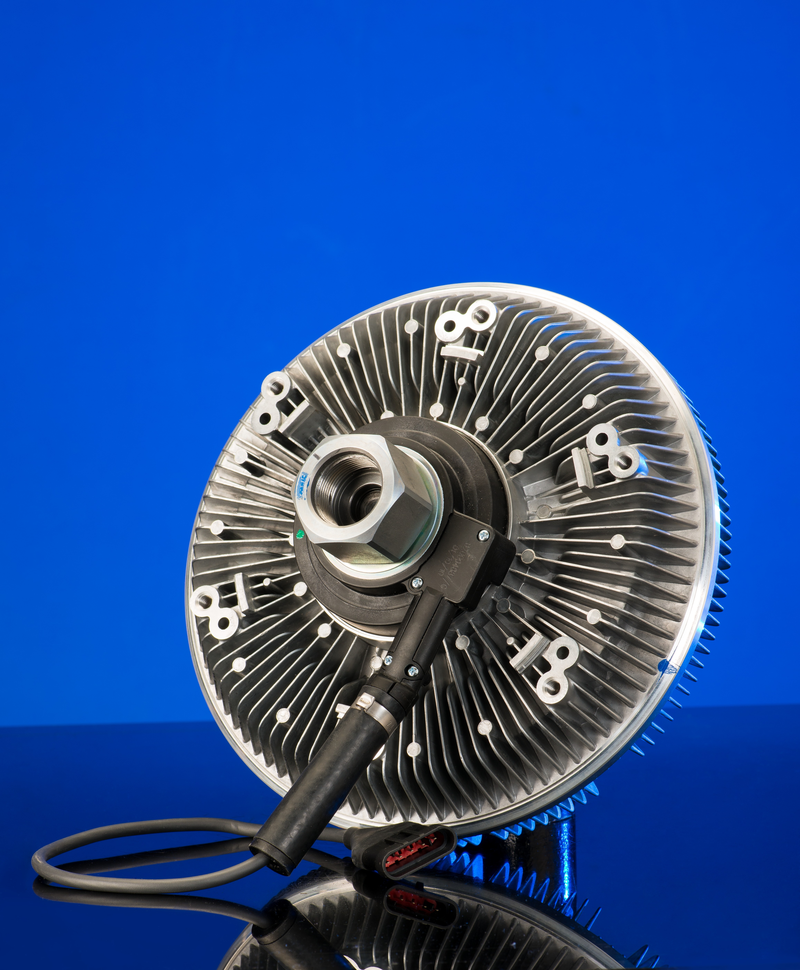 BorgWarner's electronically actuated Visctronic® fan drives respond directly to engine cooling needs, resulting in more available horsepower, improved fuel efficiency and lower emissions.