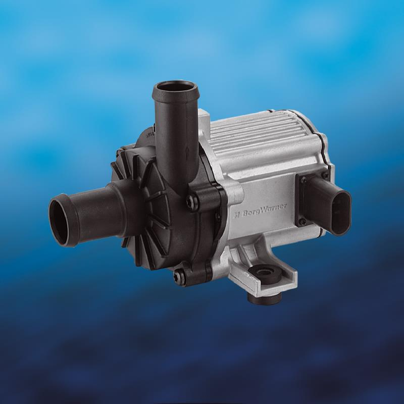 BorgWarner's auxiliary thermal coolant pump (ATCP) drives coolant flow through auxiliary coolant circuits to help maintain optimal temperature for auxiliary components during normal vehicle operation as well as when the engine is shut down.