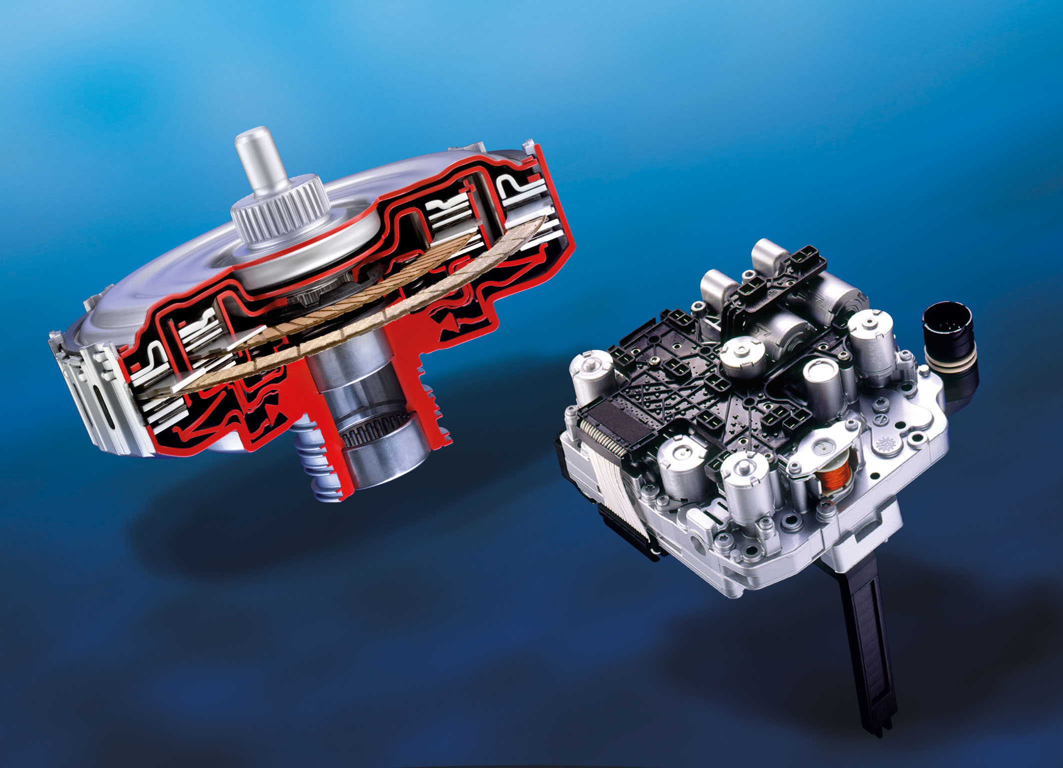 BorgWarner's state-of-the-art DualTronic® technology allows shifts within fractions of a second for increased shift performance and efficiency.