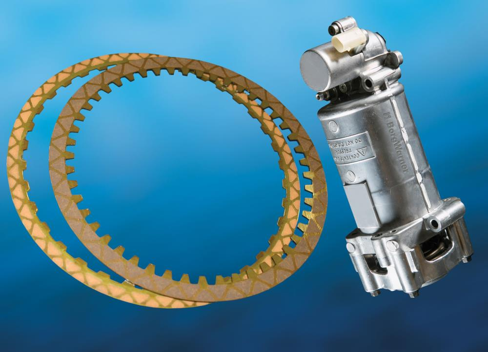 BorgWarner supplies multi-segment wet friction plates, hydraulic accumulators and Eco-Launch™ solenoid valves for GM's new Hydra-Matic 8L45 automatic transmission. These advanced technologies contribute to improved shift feel and increased fuel economy.