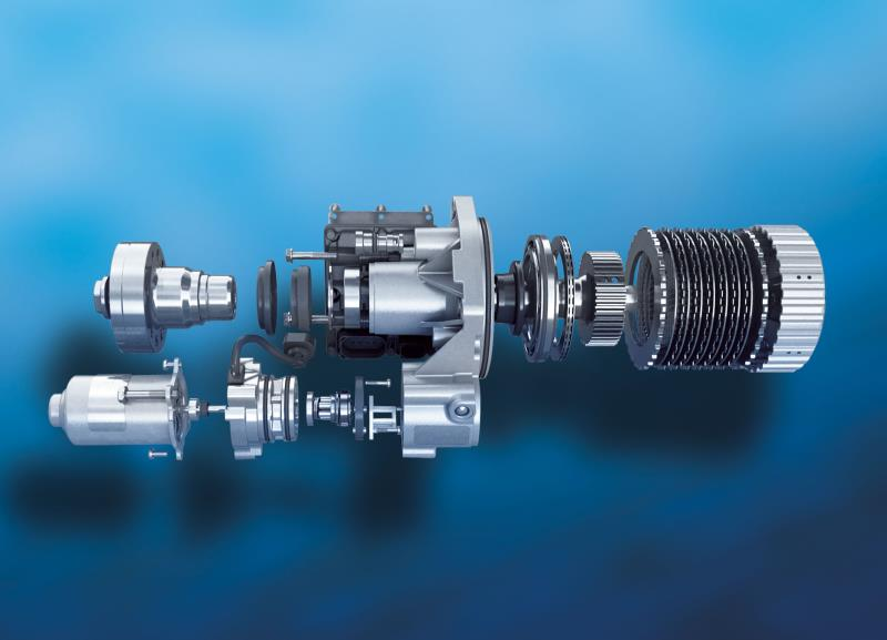 BorgWarner's all-wheel drive coupling automatically distributes power between the front and the rear axle for improved traction, handling and fuel economy.