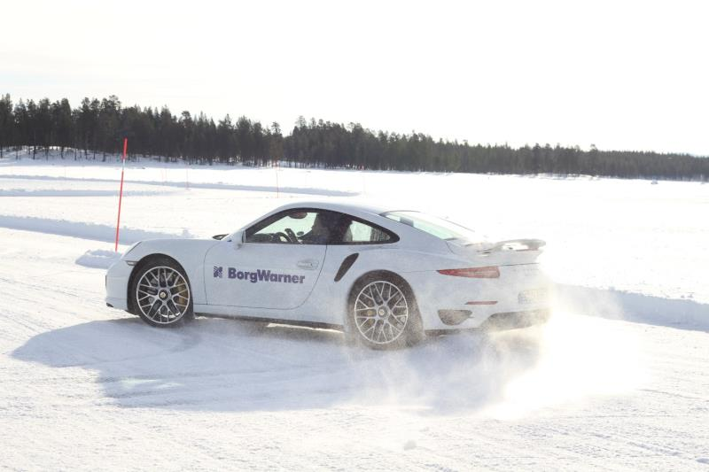 At the annual Arctic Drive event in Sweden, BorgWarner demonstrates numerous advanced drivetrain technologies, designed to significantly improve vehicle dynamics and drivability.