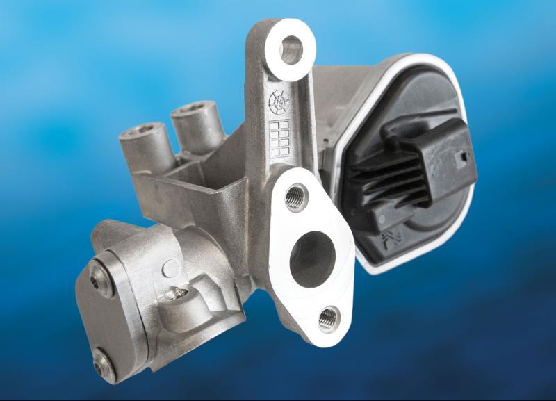 BorgWarner's EGR valve for gasoline hybrid propulsion systems improves fuel economy and reduces emissions for the new hybrid Hyundai Ioniq and Kia Niro.