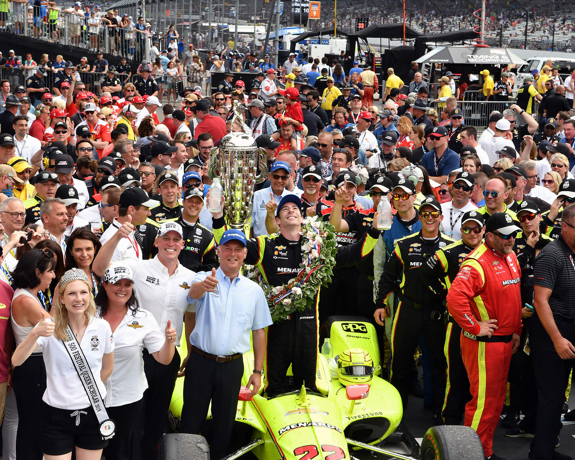 BW-00614 2019 Indy 500 winner Simon Pagenaud