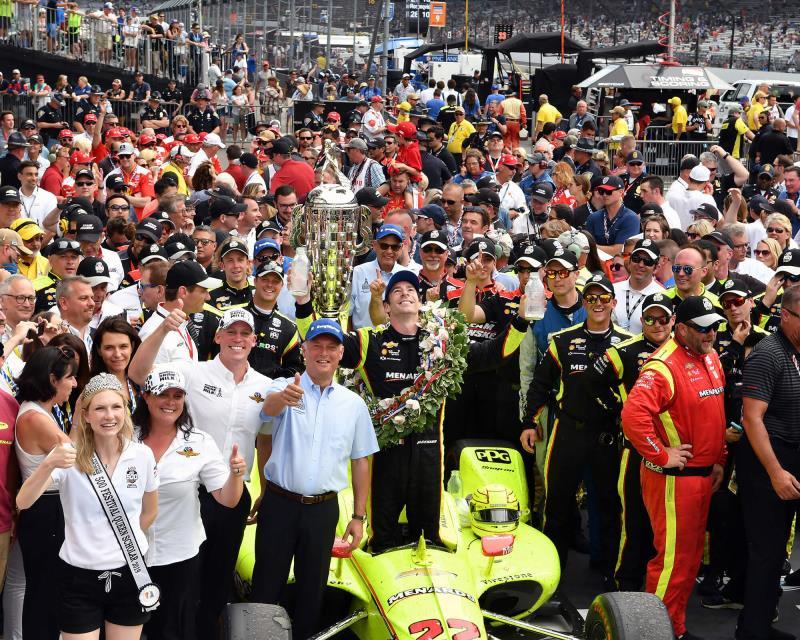 BW-00614 2019 Indy 500 winner Simon Pagenaud