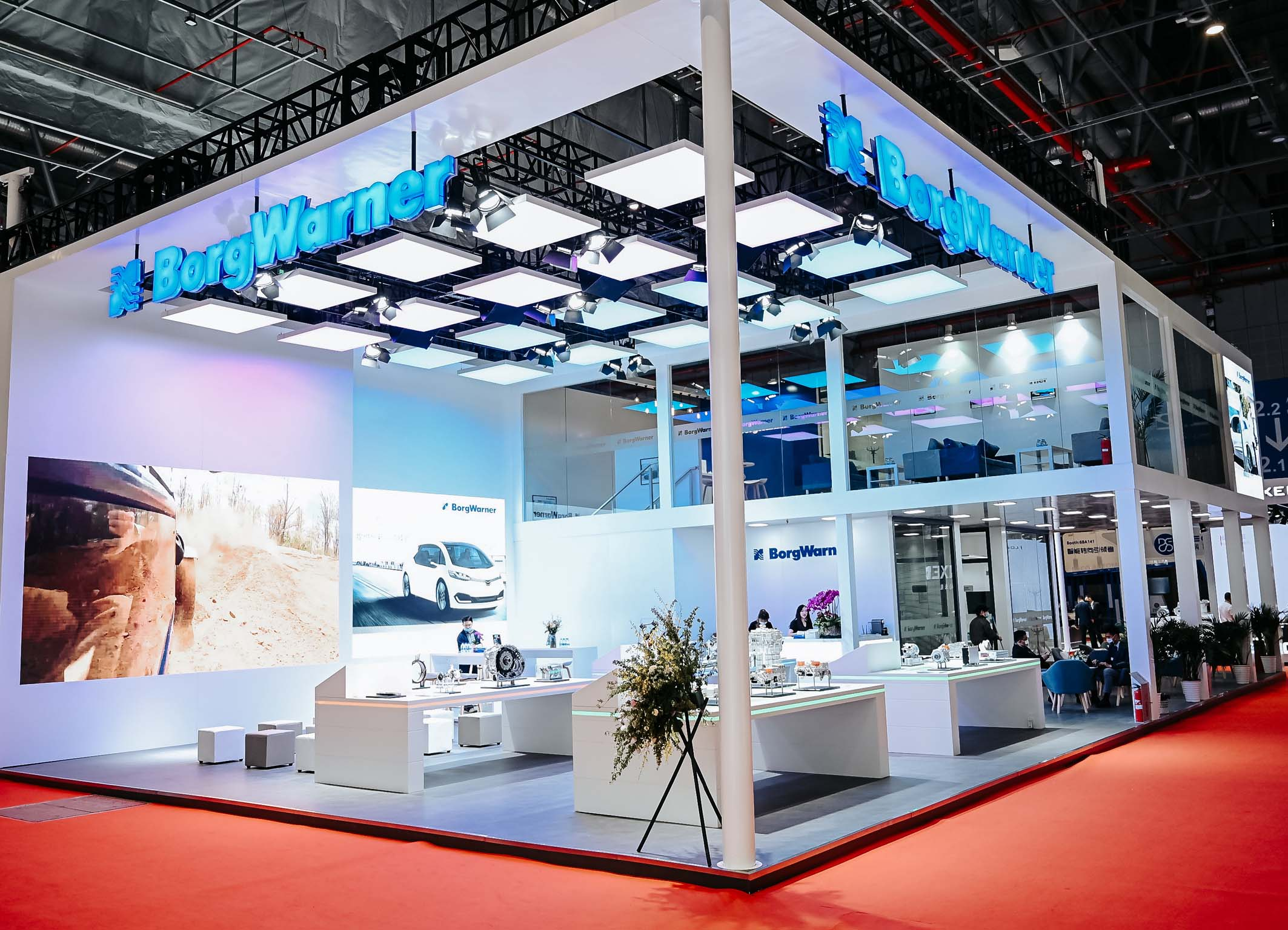 Charging Forward BorgWarner Highlights Latest Solutions for Mobility of Tomorrow at Auto Shanghai 2021