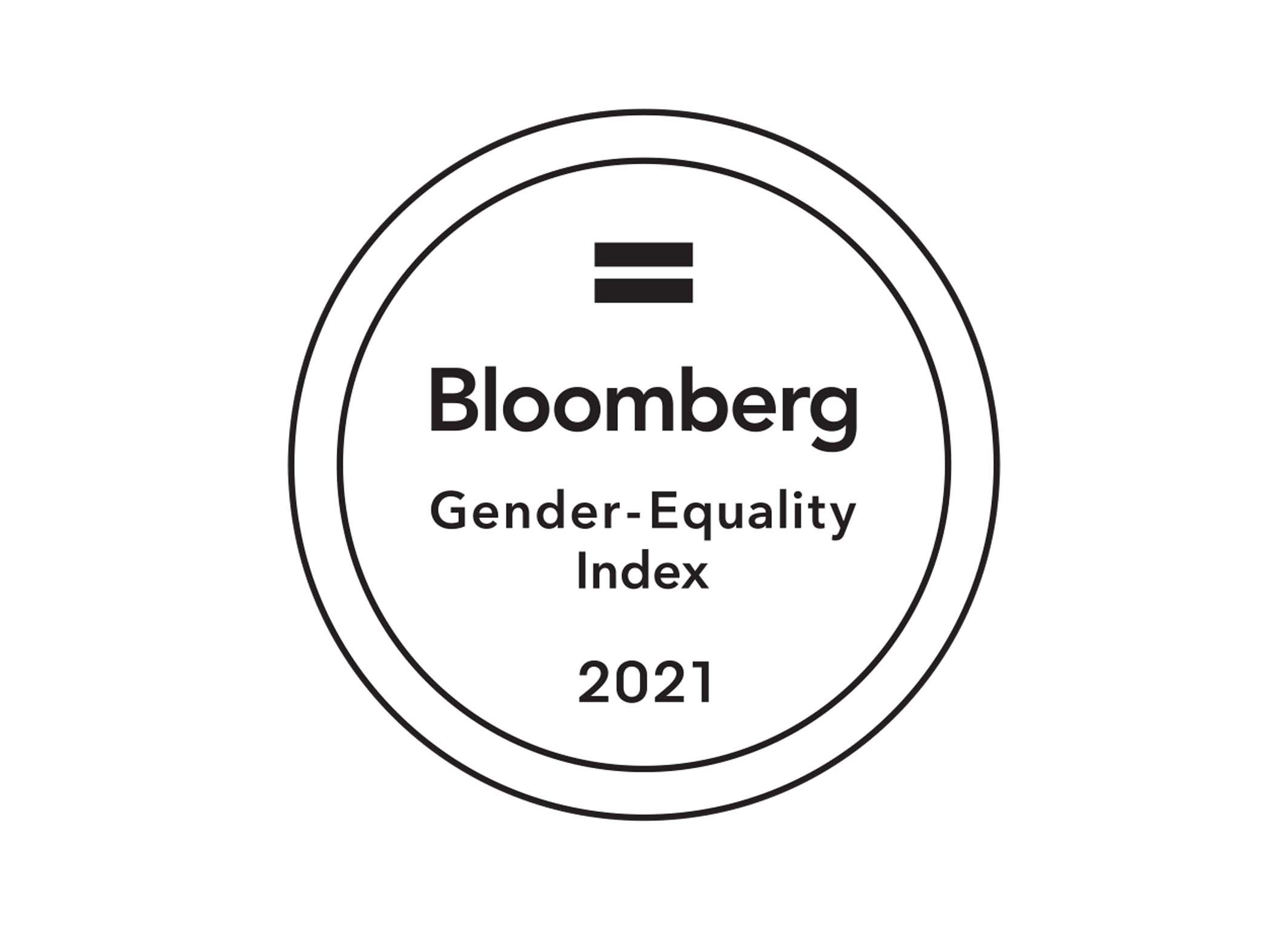 2021 Bloomberg Gender-Equality Index Logo