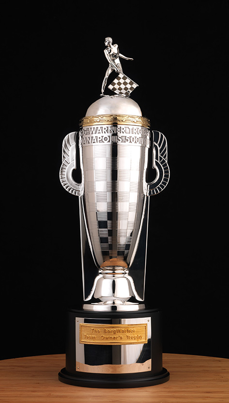 The BorgWarner Championship Team Owner's Trophy